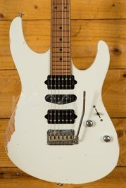 Suhr Modern Antique Limited Edition Olympic White Roasted Maple