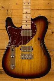 Suhr Alt T Pro 3 Tone Sunburst Maple Neck Left Handed