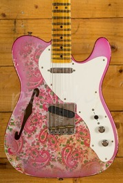 Fender Custom Shop Ltd Ed 50's Tele Thinline Heavy Relic Pink Paisley