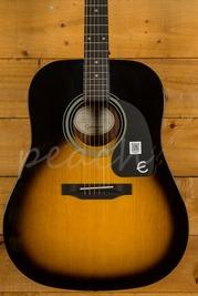 Epiphone PRO-1 Acoustic Guitar Vintage Sunburst