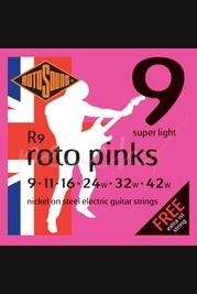 Rotosound Rotos - 9-42 Pink