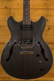 Ibanez AS53-TKF Artcore Hollowbody HH Trans Black Flat