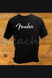 Fender Spaghetti Logo T-Shirt Black XL