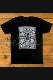 Fender Forever Loud Trust Quality T-shirt Black XL