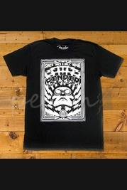 Fender High Voltage T-Shirt Black L