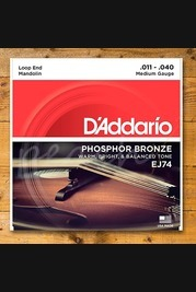 D'addario - 11-40 Medium Phosphor Bronze Mandolin