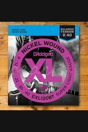 D'addario - 9-40 Super Light Balanced Tension