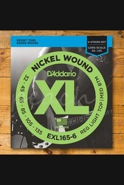 D'addario - 32-135 Regular Light Top/Medium Bottom