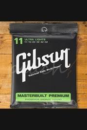 Gibson Masterbuilt Premium Phosphor Bronze 11.52 Strings