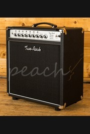 Two-Rock Classic Reverb Signature 50 Watt Combo Silver Knobs