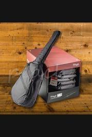 Stagg STB-LA10UB Black Bass Guitar Gigbag