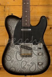 LSL T Bone Swamp Ash Black Paisley on Vintage Cream RW