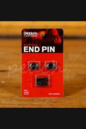 D'Addario Elliptical End Pin - Black