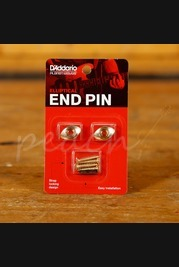 D'Addario Ellipitcal End Pin - Gold
