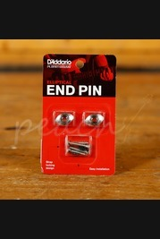 D'Addario Elliptical End Pin - Nickel