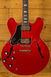 Gibson ES-335 2018 Traditional Antique Faded Cherry Left Handed