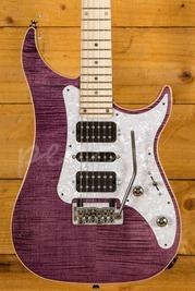 Vigier Excalibur Special HSH Tremolo Amethyst Purple Maple Neck Chrome H/W