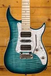Vigier Excalibur Special HSH Tremolo Mysterious Blue Maple Neck Chrome H/W