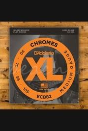 D'addario ECB82 SET BASS CHROMES 50-105 LONG