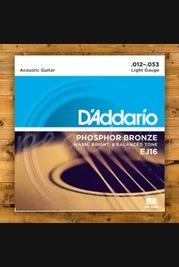 D'addario - 12-53 Phosphor Bronze Light 3-pack
