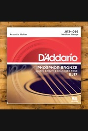 D'addario - 13-56 Phosphor Bronze Medium 3-pack