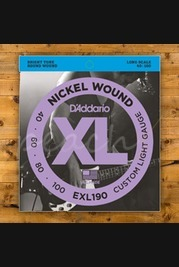 D'addario - 40-100 Custom Light Long Scale Bass