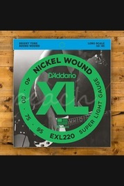 D'addario - 40-95 Super Light Long Scale Bass
