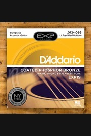 D'addario - 12-56 Bluegrass Coated Acoustic Strings
