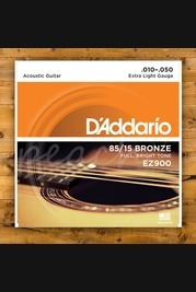 D'addario - 10-50 Extra Light 85/15 Bronze