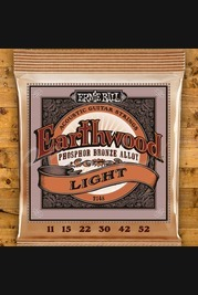 Ernie Ball Earthwood Phosphor Bronze 11-52