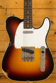 Fender Custom Shop '60 Telecaster Custom Relic 3 Tone Burst