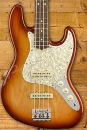 Fender LE American Pro Light Ash Jazz Bass Rosewood Sienna Sunburst