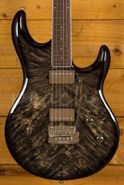 Music Man Luke III BFR Burled Maple Roasted Rosewood Neck