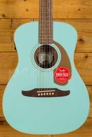 Fender Malibu Player Acoustic Aqua Splash
