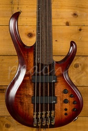 Ibanez BTB1905-BTL Premium 5-String Electric Bass Sunburst