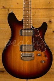 Ernie Ball Music Man Valentine BFR 3 Tone Burst Bound Maple