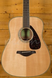 Yamaha FG840FSM Acoustic Natural Flamed Back & Sides