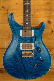 PRS Custom 24 Y6 Aqua Marine Satin w/Stained Neck Wood Library