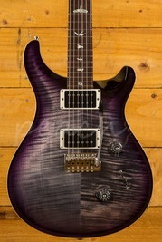 PRS Custom 24 Charcoal Purpleburst Katalox Fingerboard