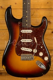 Fender Custom Shop 60 Strat Relic 3 Tone Sunburst