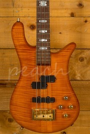 Spector Euro 4 Amber Bass Guitar Used
