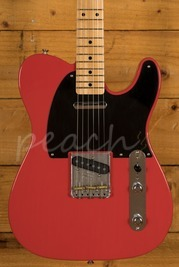 Fender Custom Shop 52 Tele Lush Closet Classic Fiesta Red