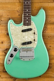 Fender Japan Traditional 60's Mustang Seafoam Green Left Handed