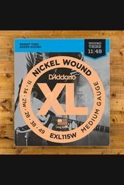 D'Addario EXL115W 11-49 - Wound 3rd