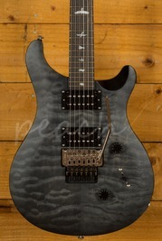PRS SE Custom 24 Floyd Quilt Satin Ltd - Grey Black