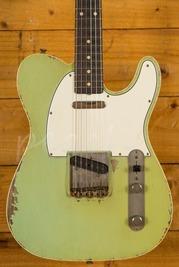 Fender Custom Shop Dale Wilson Masterbuilt 60s Tele Custom Relic Surf Green