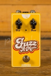 "RYRA ""Fuzz A-Matic"" Germanium Fuzz Pedal yellow"
