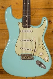 Fender Custom Shop 1960 Strat Relic Daphne Blue Used