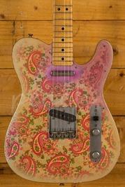 Fender Custom Shop Masterbuilt Dale Wilson 69 Tele Relic Gold Over Pink Paisley