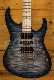 Suhr Modern Pro Faded Trans Whale Blue Burst Maple HSH